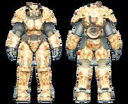 FO4CC X-01 power armor desert camo