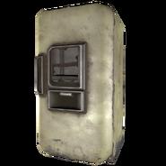 FO4 Ruin Refrigerator Yellow