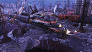 FO76 Flooded train new 3