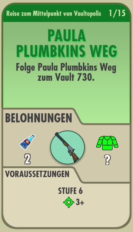 Paula Plumbkins Weg