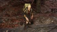 Feral Ghoul Officer 3