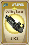 FoS Gatling Laser Card