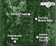 Adams Air Force Base map