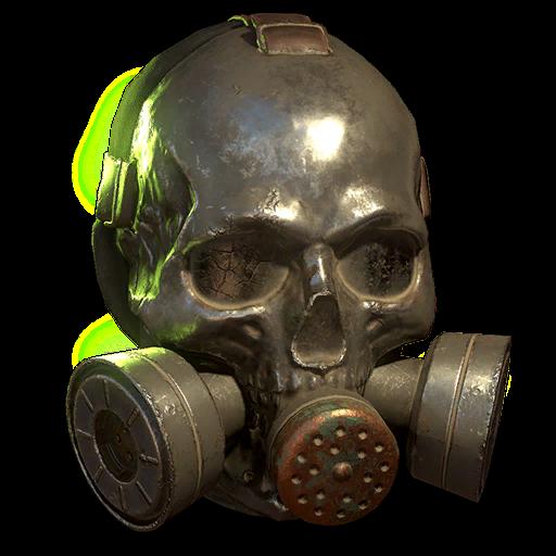 Raider skull gas mask