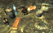 FO3 Rock-It-Launcher and ammo