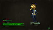 FO4VW Vault-Girl Statue Loading Screen