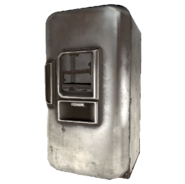 FO4 Refrigerator Stainless Steel