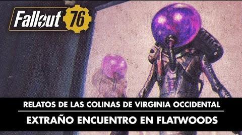 Fallout 76 – Relatos de las colinas de Virginia Occidental extraño encuentro en Flatwoods