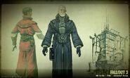 Art of Fallout 3 Elder robes CA1