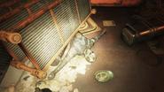 Enclave Corpse in Incinerator room