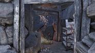 FO76 Mole miner tunnel entrance