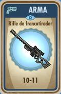 FOS Rifle francotirador carta