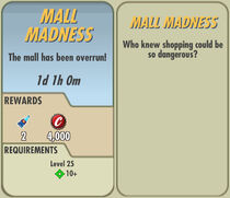 FoS Mall Madness card