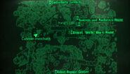 Canterbury Commons loc map