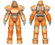 FO4CC T-51 power armor orange
