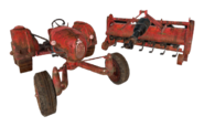 FO76 Tractor and till