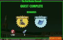 FoS The Red Rocket Reveal - rewards