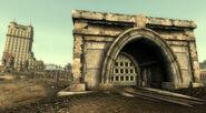 Warrington tunnels Trainyard door