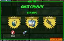 FoS Vault 789 rewards