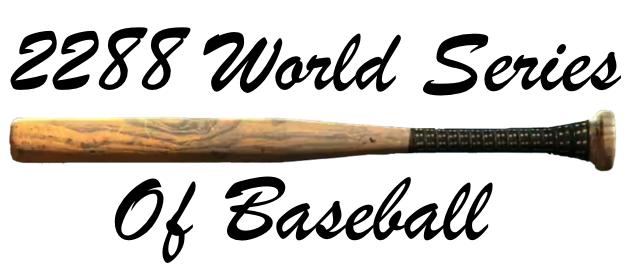 Agent c/World Series of Baseball - Pilot Blog