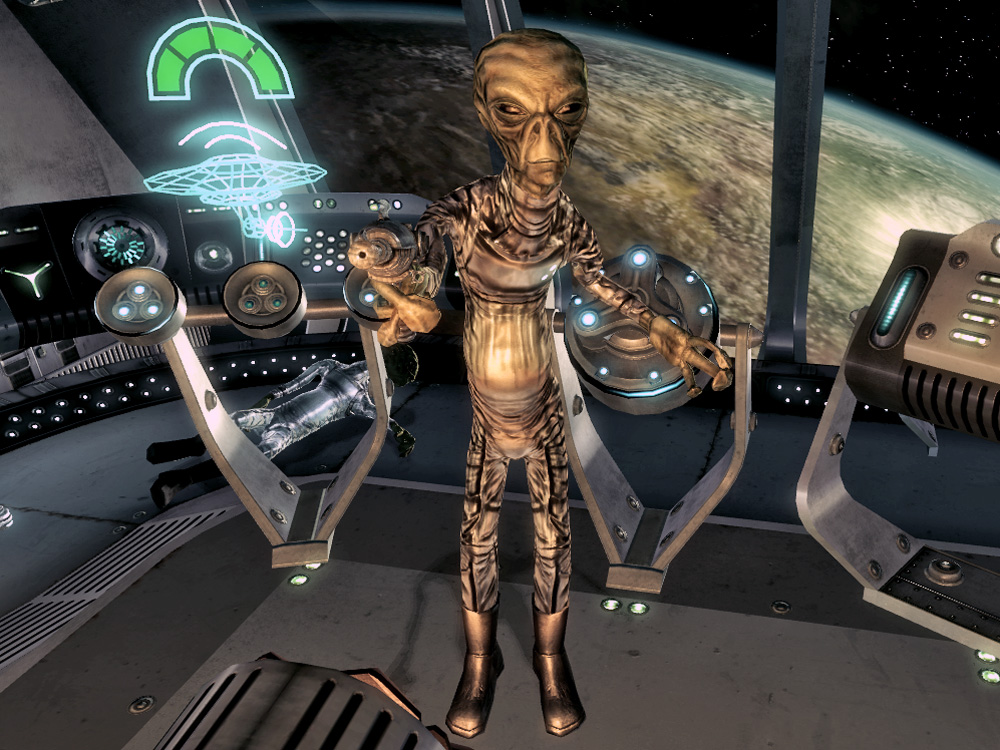 Alien captain