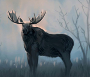 FO4 Artbook moose painting