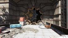 Fo76SR Vault 96 Vault Door open