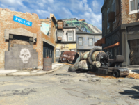 FO4 Street clean Quincy ruins