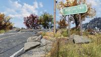 FO76 191020 Morgantown city limits sign