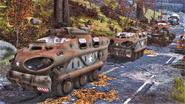 FO76 military convoy