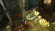 FO3 Irradiated Outhouse loot