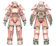 FO4CC T-45 power armor pink