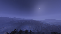 FO76 Appalachia Night View