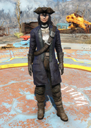 Fo4Minutemen General's Uniform female