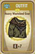 FoS Heavy Wasteland Gear Card