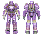 FO4CC T-60 power armor purple