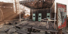 FO76 Lewisburg station (automated voting system)