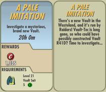 FoS A Pale Imitation card