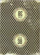Karta do gry lucky 38