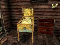 Pinball machine lodge