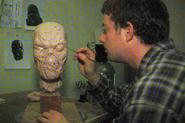 F1 Set clay head WIP 2