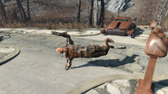 FO4 Fiddlers Green Trailer Estates breakdancer