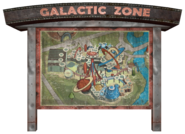 Galactic Zone park map