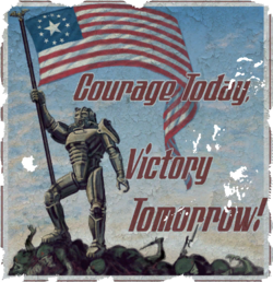 FO4 posters Courage Today Victory Tomorrow.png