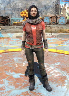 Nuka-Cola t-shirt & leather pants.png