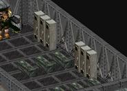Plastic explosives Enclave oil rig barracks