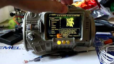 Working_pipboy_3000