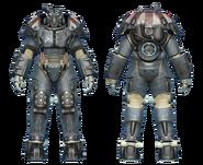 FO4CC X-01 power armor minutemen patriot