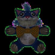 Jumbo Checker Tie Mr. Fuzzy