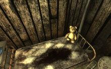 Teddy Bear w Whiskey Bottle